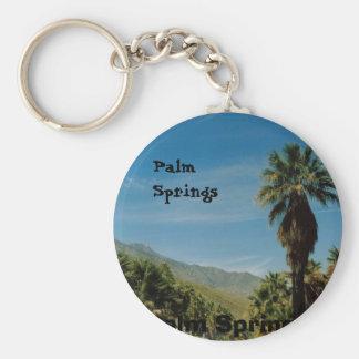 Palm Springs Llavero Redondo Tipo Pin