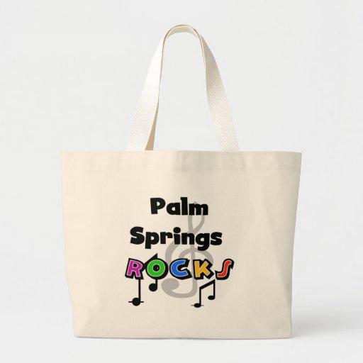 Palm Springs Rocks Jumbo Tote Bag