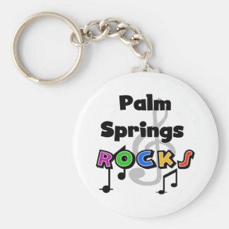 Palm Springs Rocks Key Chain