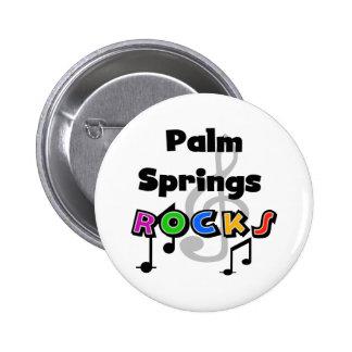 Palm Springs Rocks Pinback Button