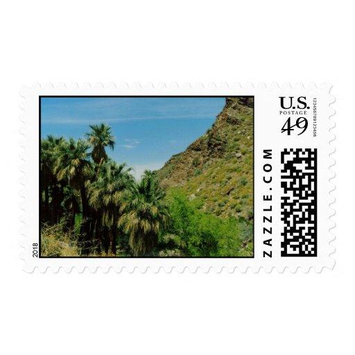 Palm Springs Scene Postage