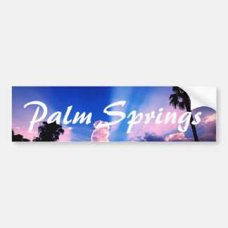 Palm Springs Sky Bumper Sticker