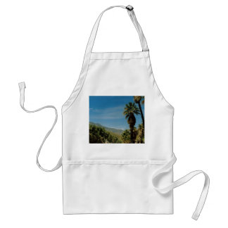 Palm Springs View Adult Apron