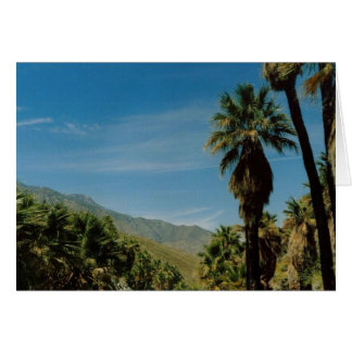 Palm Springs View Greeting Card