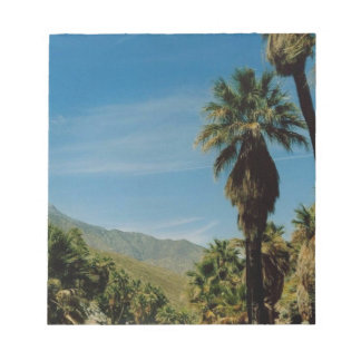 Palm Springs View Memo Notepads