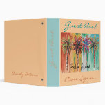 Palm Squad Guest Book Binders
