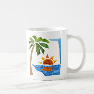 Palm, Sun & Sea Coffee Mug