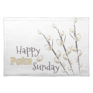Palm Sunday Cloth Placemat
