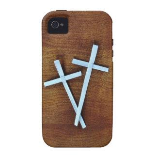Palm Sunday Crosses iPhone 4 Case