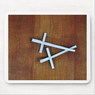 Palm Sunday Crosses Mouse Pad