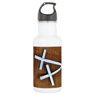 Palm Sunday Crosses Water Bottle