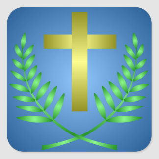 Palm Sunday Easter Sticker