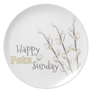 Palm Sunday Melamine Plate