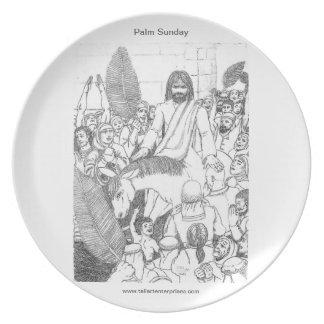 Palm Sunday Plate