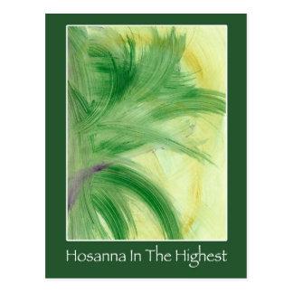 Palm Sunday Postcard