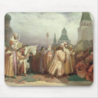 Palm Sunday Procession Mouse Pad