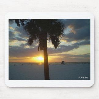 Palm Sunset Mouse Pad
