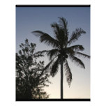 Palm Sunset Personalized Letterhead