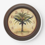 Palm time round wallclock