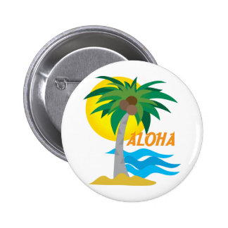 Palm Tree 1 Pinback Buttons