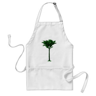 Palm Tree 2 Green The MUSEUM Zazzle Gifts Adult Apron