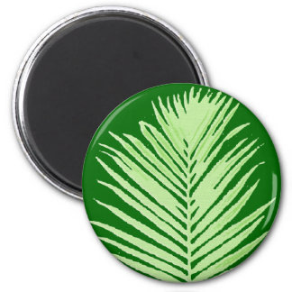 palm tree 2 inch round magnet