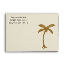 palm tree 5x7 envelopes