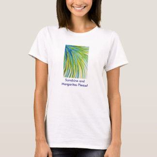 Palm Tree Abstract Watercolor Shirt