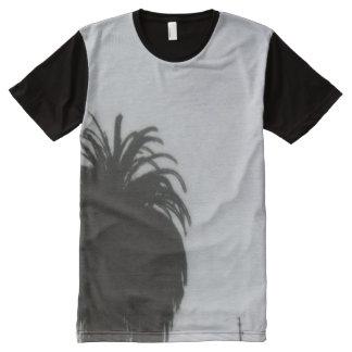 Palm Tree All-Over-Print Shirt