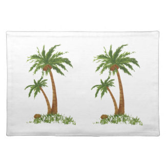 Palm Tree American MoJo Placemat Cloth Placemat