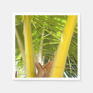 Palm Tree and Blue Sky Paper Napkin