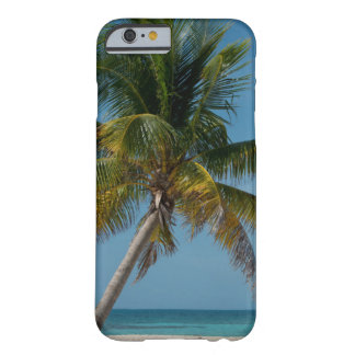 Palm tree and white sand beach  2 barely there iPhone 6 case
