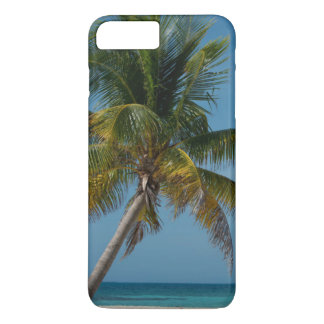 Palm tree and white sand beach  2 iPhone 8 plus/7 plus case