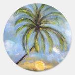 Palm Tree Artwork Sticker