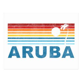Palm Tree Aruba Postcard