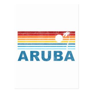 Palm Tree Aruba Postcards