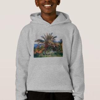 Palm Tree at Bordighera - Claude Monet Hoodie