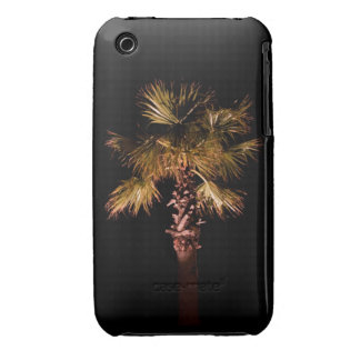 Palm tree at night iPhone 3 cover