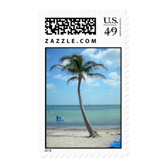 Palm tree at the Beach Postage