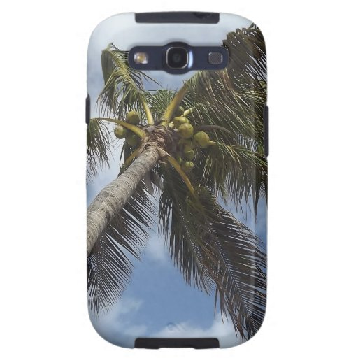 Palm Tree at the Blue Lagoon Galaxy SIII Cover
