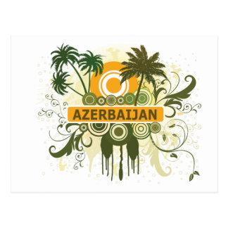 Palm Tree Azerbaijan Postcard