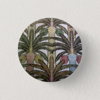 Palm tree badge. button