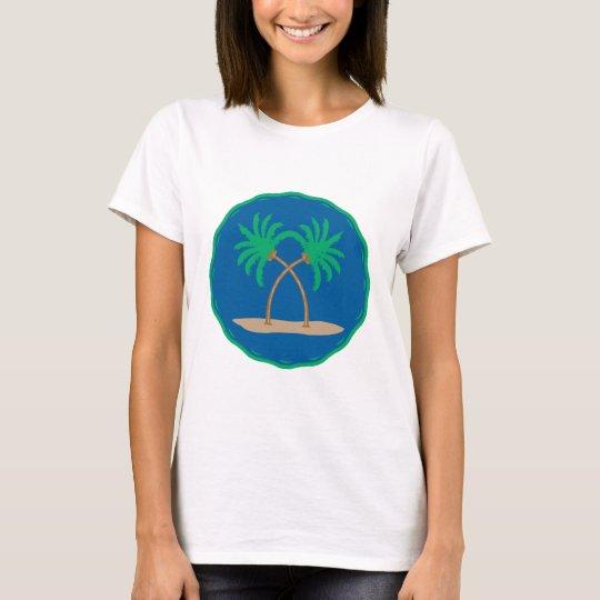 Palm Tree Badge T-Shirt