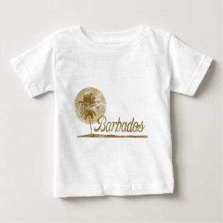Palm Tree Barbados Tee Shirt