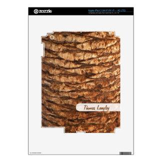 Palm Tree Bark iPad Skin