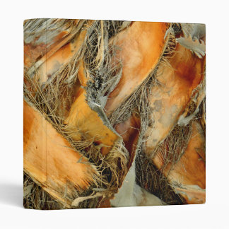 Palm tree bark natural texture 3 ring binder