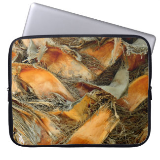 Palm tree bark natural texture laptop sleeve
