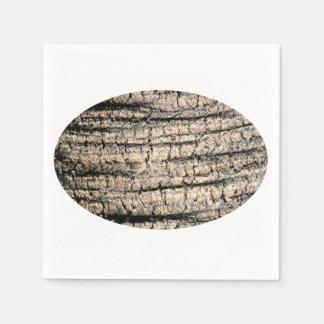 palm tree bark neat wood  tree texture image napkin