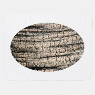 palm tree bark neat wood  tree texture image receiving blanket