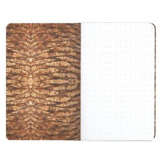 Palm Tree Bark Pocket Journal